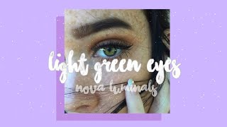 ❝ get attractive light green eyes in one day ❞ ༄ silent subliminal