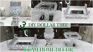 DOLLAR TREE DIY | HOME DECOR | DIY GLAM DECORATING IDEAS ON A BUDGET FOR SPRING/SUMMER 2020