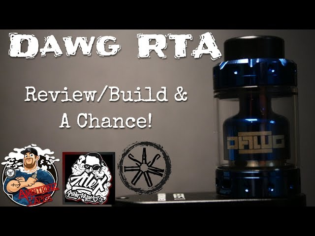 Dawg RTA by Asmodus/VapersMD Review | Build | A Chance To Grab One!