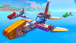 BUILD THE FASTEST BOAT CHALLENGE!! - Trailmakers