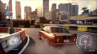 Need for Speed Heat - BMW M3 Evolution II 1988 Gameplay (PC HD) [1080p60FPS]