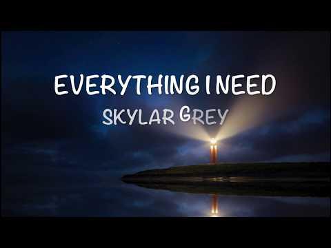 Aquaman Soundtrack   Everything I Need - Lyrics - Skylar Grey