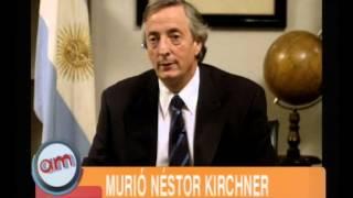 Muerte De Nestor Kirchner  AM