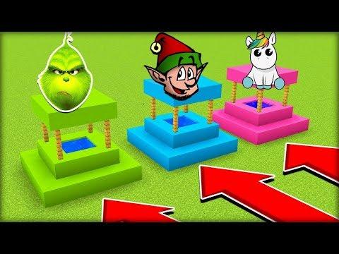 NEVYBER SI ŠPATNOU STUDNU V MINECRAFTU! (Grinč, Elf, Unicorn)
