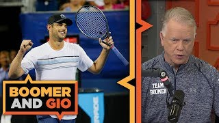 Andy Roddick on the state of Tennis | Boomer & Gio