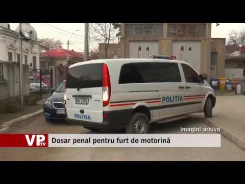 Dosar penal pentru furt de motorină