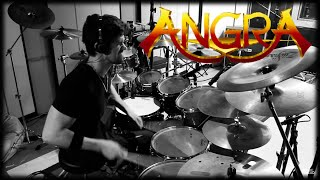 "ANGRA - ""THE TEMPLE OF HATE"" (DRUM COVER) -  PEDRO TINELLO"