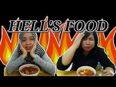 """HELL'S FOOD! """"Seblak Jeletet Murni"""" Level 5? #foodporn (English sub available)"""