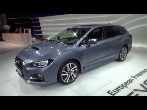 2016 - Subaru Levorg AWD - 2015 Geneva Motor Show