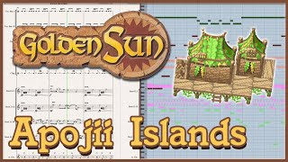 "New Arrangement: ""Apojii Islands"" from Golden Sun: The Lost Age (2002)"