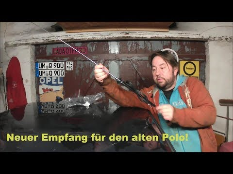 VW Polo 86c Antenne montieren