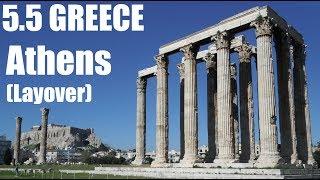 6 Hour Layover in Athens - GREECE : AWSM S01E07.5
