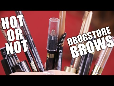 DRUGSTORE BROWS PRODUCTS | Hot or Not