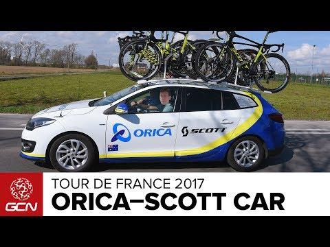 Orica-Scott Cycling Team Car   Tour de France 2017