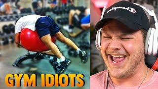 Funniest People In Gyms - Reaction