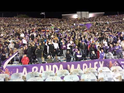 """""""Defensor """"Somos La Numero 1.."""" Copa Libertadores 2014"""" Barra: La Banda Marley • Club: Defensor"""