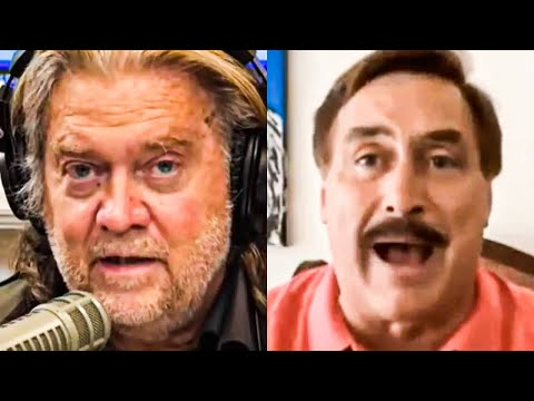 Even Steve Bannon Can't Handle Mike Lindell's Idiocy