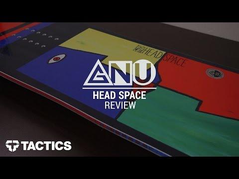 Gnu Head Space 2017 Snowboard Review – Tactics.com