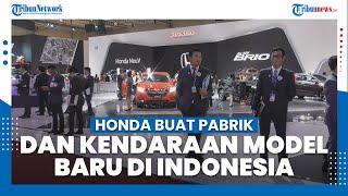 Honda akan Relokasi Pabrik dari India ke Indonesia & Berencana Produksi Kendaraan Listrik Model Baru