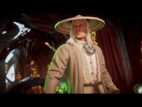 Mortal Kombat 11 Ultimate - Christopher Lambert - ALL DIALOGS RAYDEN в 2K