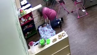 Mother Shocked After Allegedly Seeing Daycare Worker Shove Toddler's Face into Pillow