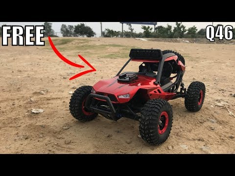 Best RC Car Under 5000rs(70$) | JJRC Q46 SPEED RUNNER 1:12 4WD Unboxing & Testing | Rc Adventure.