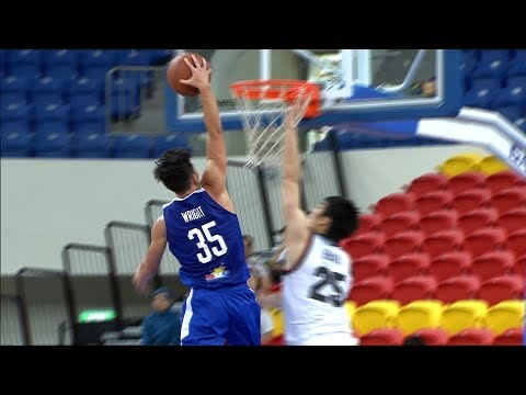 Matthew Wright Rises Up for the NASTY Throwdown Against Japan! (VIDEO) Jones Cup 2017