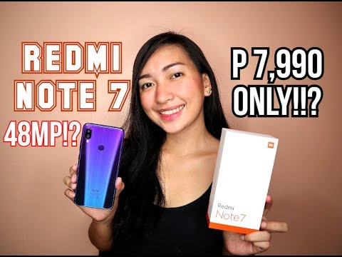 REDMI NOTE 7 - FULL REVIEW (MOBILE LEGEND,CAMERA, SPECS) - TAGALOG REVIEW