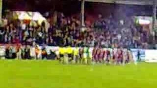 AFC in Europe. Back where we belong