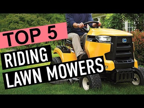 BEST 5: Riding Lawn Mowers 2018