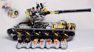 Lego Panzer MK6 und Minigeschichte