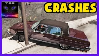 BeamNG drive - Oldsmobile 88 Delta / Regency CRASHES and ACCIDENTS [3.Mar.2017]