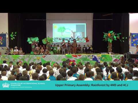 Upper Primary School Assembly - 'The Great Kapok Tree' by 4MD an