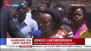 Habari sasa hivi: Jengo laporomoka mjini Kisumu