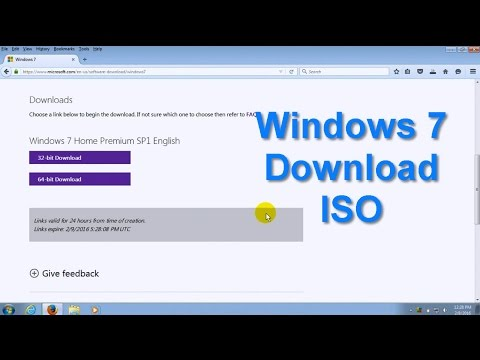 Video How to download Windows 7 directly from Microsoft -  Legal Full Version ISO - Easy to Get!