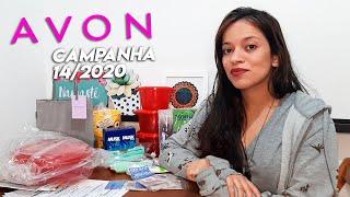 Abertura De Caixa Avon - Campanha 14/2020 📦💄