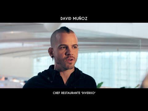 Vino con pajita, con cuchara y como aliño - David Muñoz