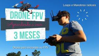 #drone #racer #fpv Drone Racer FPV - Depois de 3 meses da montagem e configuração. Como estamos ?
