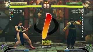 Relena (Chun Li) Vs Gaz Desu (Guy) - AE 2012 Endless Matches *720p HD*
