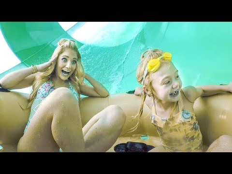 braving giant ride at world   s largest indoor waterpark