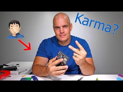 I broke my phone TWICE! – Is Karma finally catching up?!