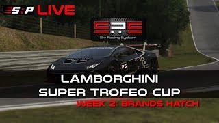 Sim Racing System Super Trofeo Cup Week 2: Brands Hatch