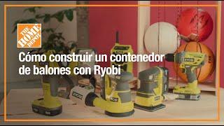Construye un contenedor de balones con Ryobi