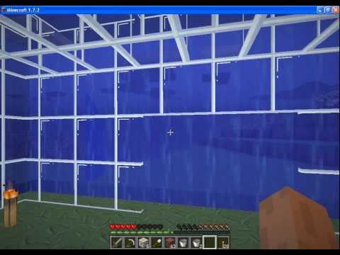 Майнкрафт ДОМ из ВОДЫ (Minecraft Строительство Дома)