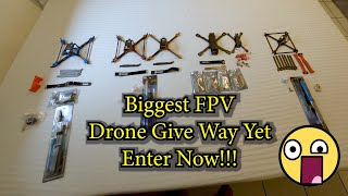 Drone Give Away 2020 || Lots Of FPV Parts