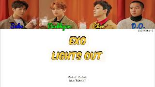 EXO - Lights Out (HAN/ROM/PT-BR) [Color Coded]