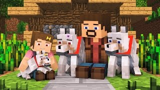 Wolf Life Full Animation Alien Being Minecraft Animation