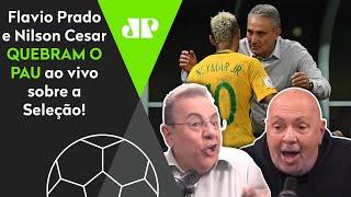 'Você é um idiota': Flavio e Nilson perdem a linha e tretam feio sobre a seleção