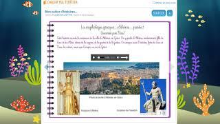 Contes à distance: la naissance d'Athena