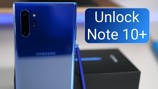 How to Unlock Samsung Galaxy Note 10 Plus